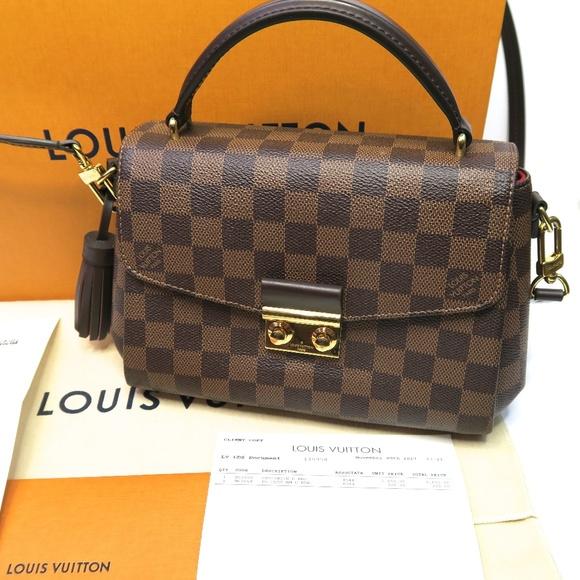 50614e0933e2 Louis Vuitton Handbags - Louis Vuitton Croisette Damier Ebene Crossbody Bag